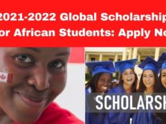 African Graduate Scholarships 2021/2022 at University College London