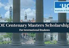 IOE Centenary Masters Scholarships 2021