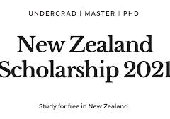 New Zealand Postgraduate International Scholarships 2021