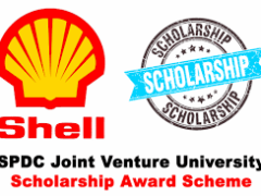 2021/2022 SPDC Joint Venture Scholarship Award Scheme