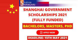 Shanghai Government Scholarships 2021 for Bachelors, Masters and PhD International Students
