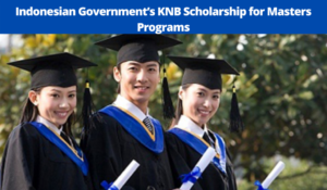 KNB funding for Masters Programs, 2021