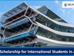 Monash KC Kuok Scholarship 2021 for International Students to study in Australia