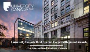 University Canada West Special Regional Awards 2021 for International Students
