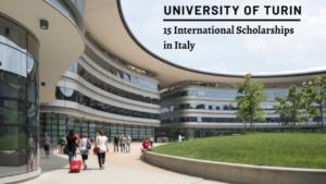 University of Turin International Scholarships in Italy