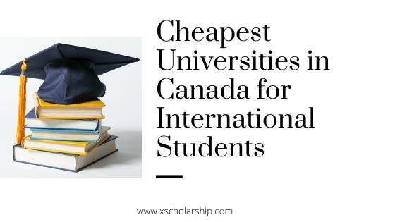 ارزانترین دانشگاههای کانادا برای دانشجویان بین المللی 2021