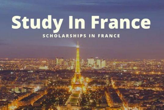 Scholarships in France for International Students 2021