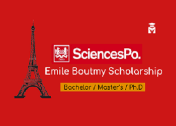 Emile Boutmy Scholarships 2021 for Non-EU Students at Sciences Po