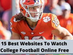 15 najboljih web stranica za besplatno gledanje koledž nogometa