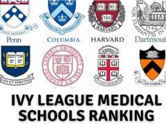 Ivy League Medical Schools Ranking 2021-2022