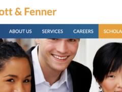 Abbott and Fenner Scholarship 2021.