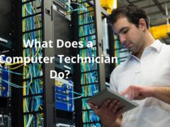 What Does a Computer Technician Do?