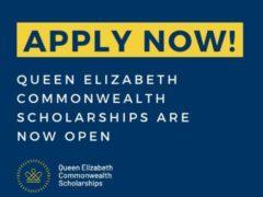 Queen Elizabeth Commonwealth Scholarship 2021-2022