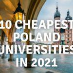 أرخص جامعات بولندا في عام 2021