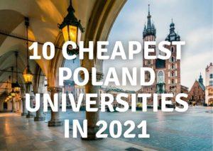 Universitas Polandia Termurah di 2021