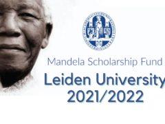 I-Leiden University Mandela Scholarships yabafundi baseNingizimu Afrika 2021/2022